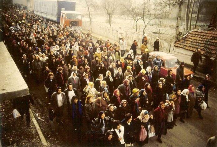 (Büyük madenci yürüyüşü, Zonguldak, 1991)
