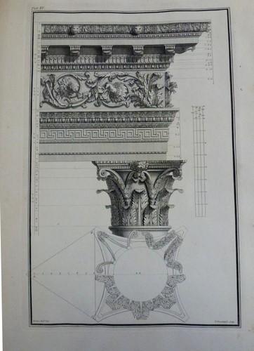 Metin Kutusu: The Ruins of Palmyra, Otherwise Tedmor, in the Desert, Robert Wood, 1753. Engraving, 57.2 x 38.1 x 7.6 cm (book measurements).