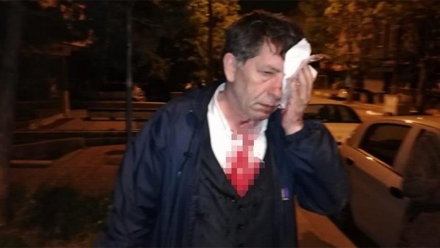 Gazeteci Yavuz Selim Demirağ'a evinin önünde saldırı! - Son dakika haberleri