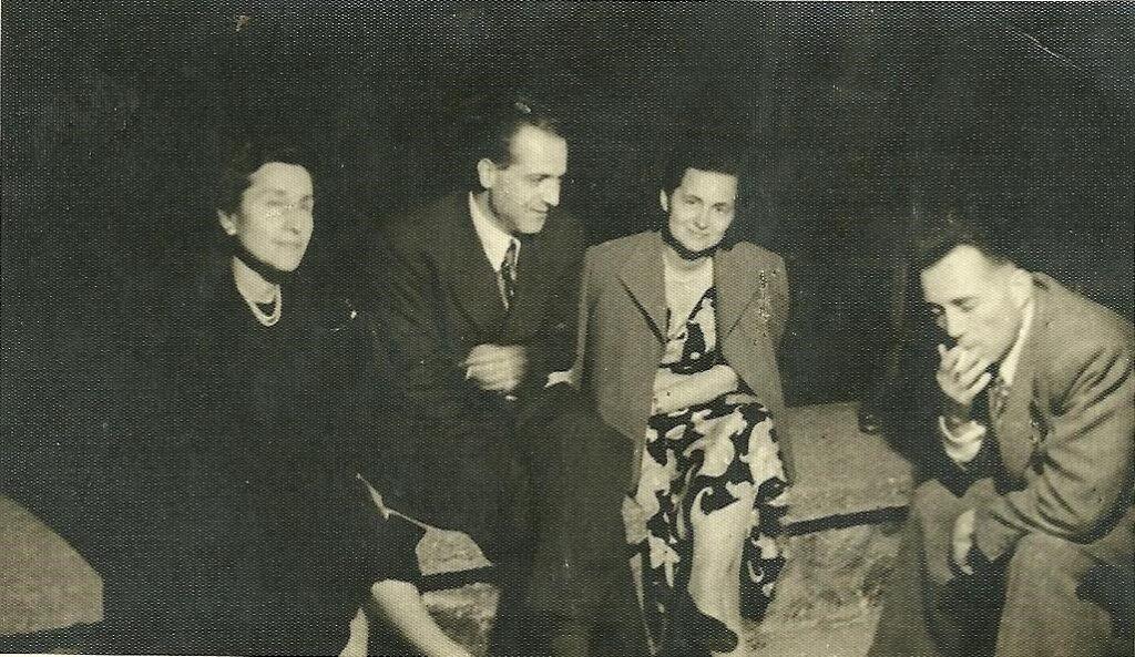 Cazibe Hanım, babam, annem, Ali Rıza Bey (Sanul)