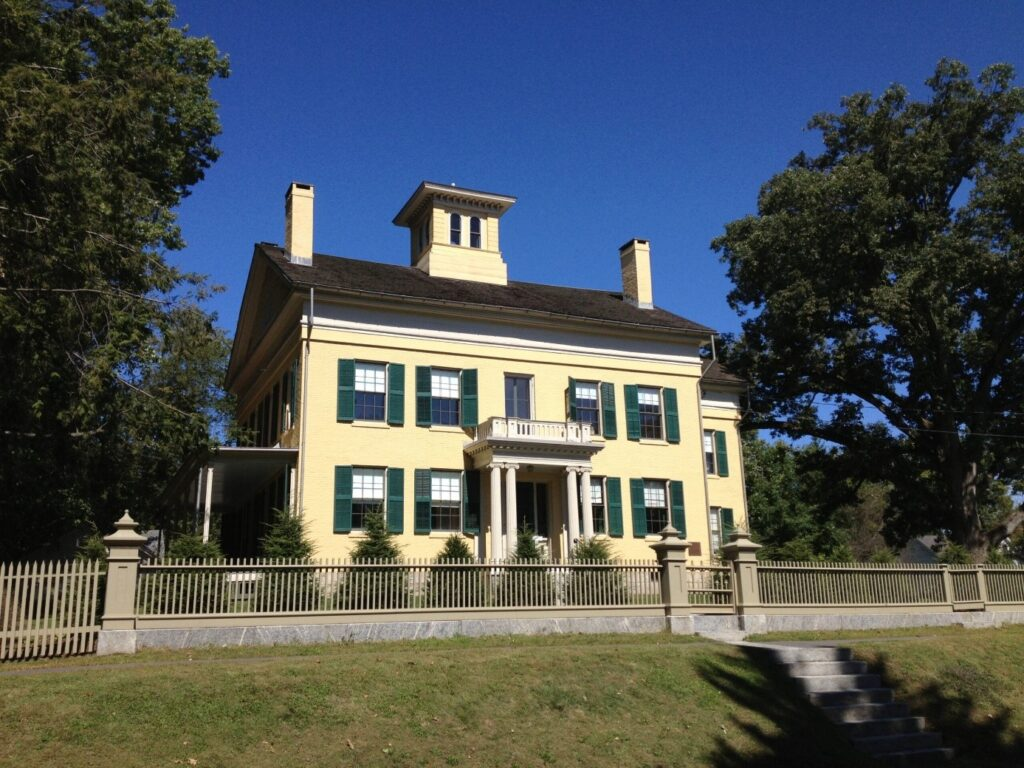 A visit to the Emily Dickinson homestead in Amherst